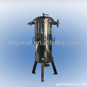 Food grade stainless steel bag filter for vegetable oil