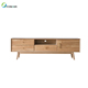 Morden Square Solid Wooden Tea Table Coffee Table with Drawers Table Living Room Furniture
