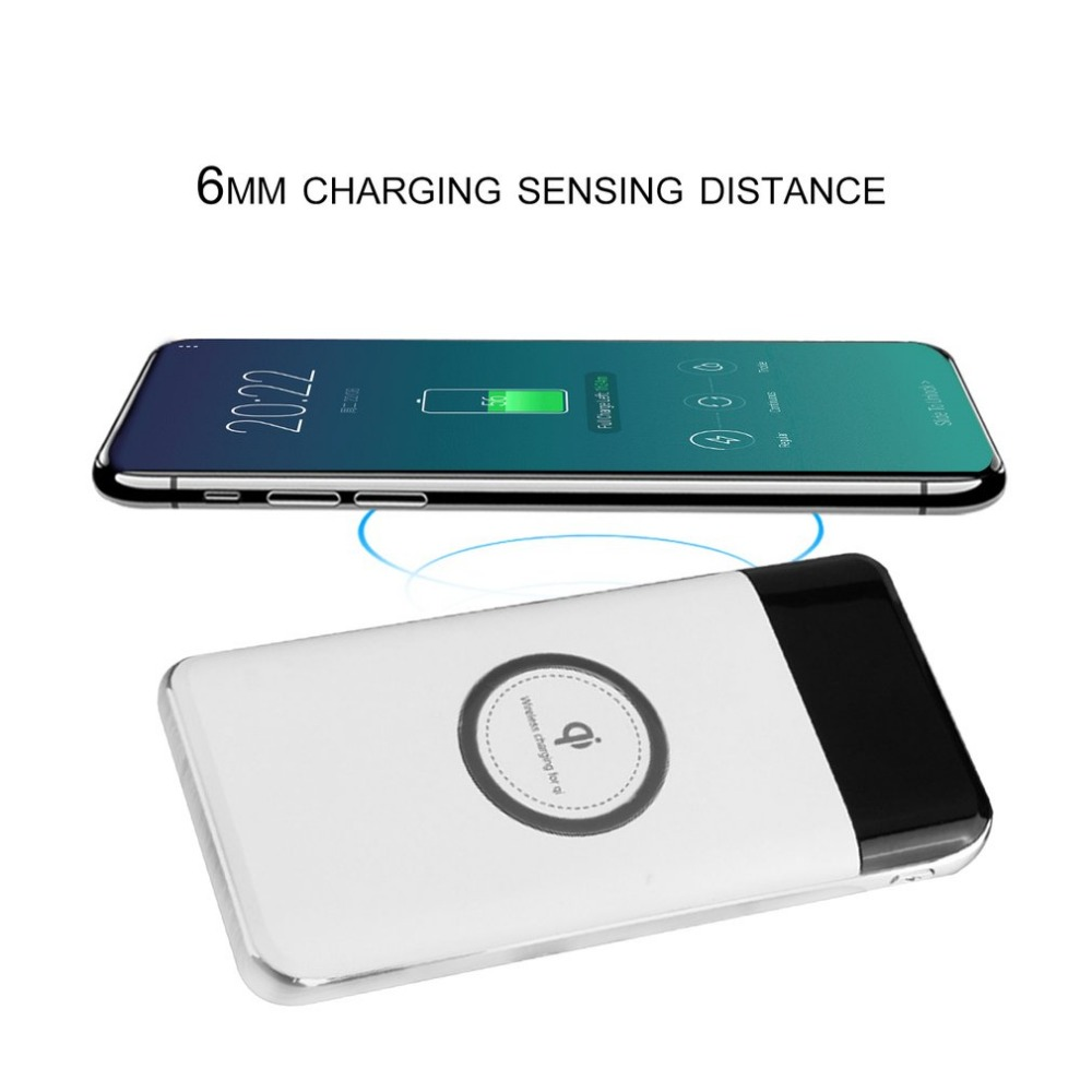 Trend 2020 portable wireless power bank fast charging