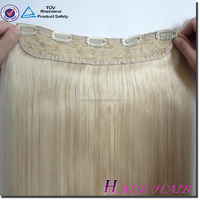 Alibaba Golden Supplier 100% Remy Human Hair Cuticles Correct Kinky Straight clip in natural wavy hair extensions