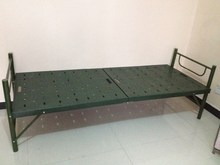 strong structure plastic folding bed in hot sale