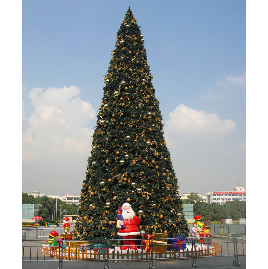 Factory Giant Shopping Mall Outdoor Christmas Tree With Led Lighting