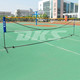 High Quality with portable and adjustable Tennis/Volleyball/badminton net with stand