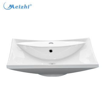 square cheap small colored bathroom sink - buy sink