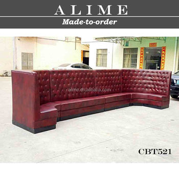 Alime CBT521 hot sale foshan custom modern leather night club high back  sectional sofa, View high back sofa, ALIME Product Details from Jiangmen  Alime ...