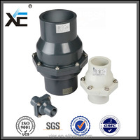 Lustrous surface sump pump pvc check valve 4 inch from china manufacturer