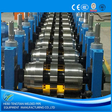 Steel pipe cold forming machinery High efficiency steel frame C Z purlin roll forming machine