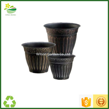 Unique Flower Pots Plastic Planter Pots Garden Decorative