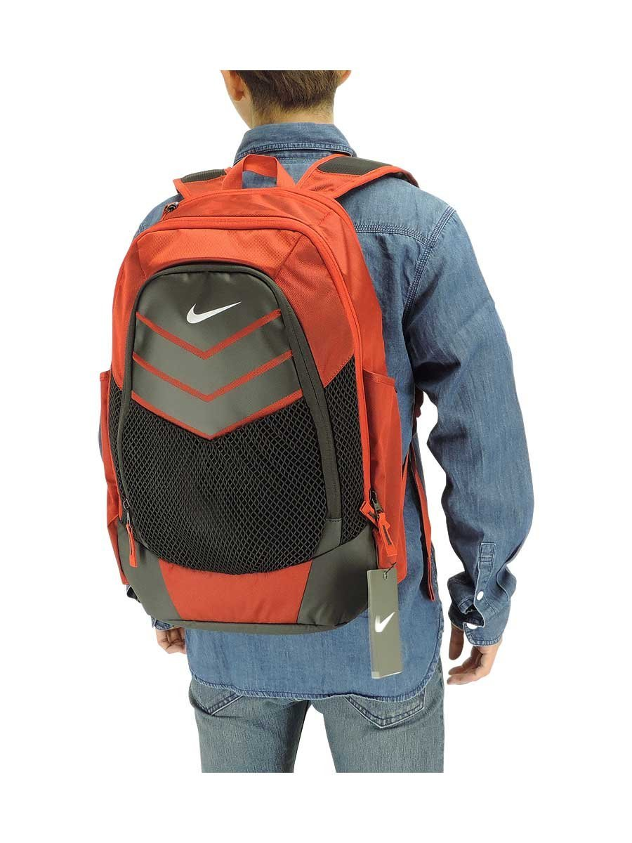 Nike Vapor Power Backpack Backpack University Red Black Metallic Silver One  Size 3982ef242520b