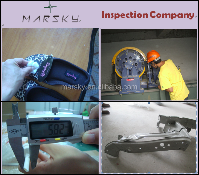 provide you with final random inspection for different kinds of parts inspection in guangzhou and yiwu and shanghai