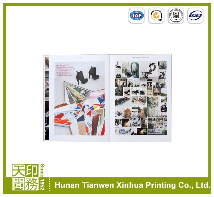 art paper Fashional tourist catalogue printing