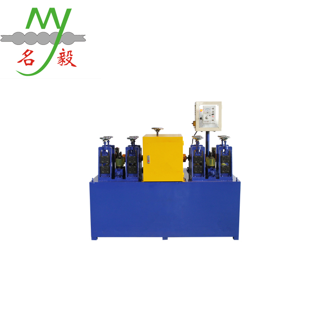 Portable european style pipe threading machine with one free mould