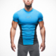 NO MOQ wholesale fitness tshirts dry wick coolmax running shirts