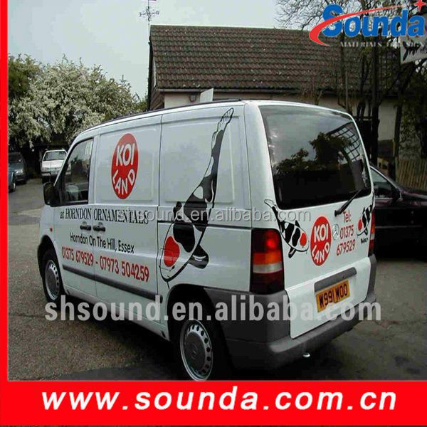 Environmental Protection PVC Subway Advertising Self Adhesive Vinyl