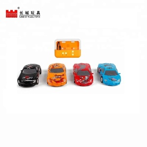 1:67 2 4g remote control toy electric plastic rc car for kids