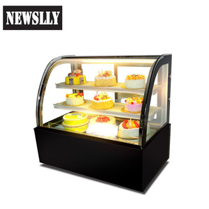 High Quality Commercial Display Fridge Cake Display Fridge Bakery Display