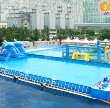 Giant inflatable pool mental intex swimming pool