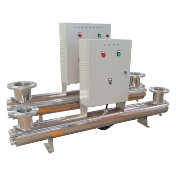 25GPM UV Drinking Water Treatment Systems Of Disinfection Unit