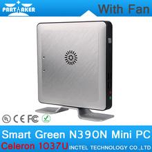 4G RAM only OEM Mini Desktop PC with Fan Intel Celeron 1037U CPU Dual Core Linux Embedded Computer Parts