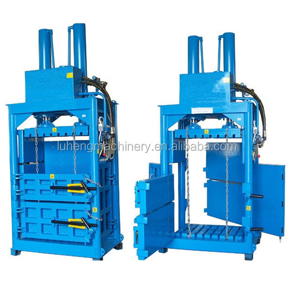 Recycled Plastic Press Baler usde clothes bale machine