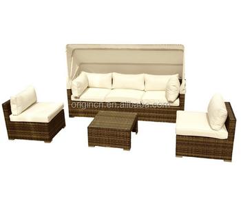All- Weather Sectional Balcony Corner Sun Pleasure Outdoor Furniture ...