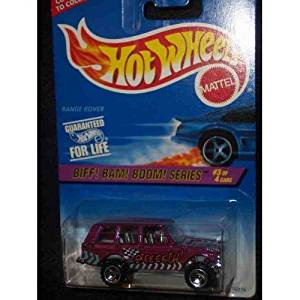 Hot Wheels Biff! Bam! Boom! Series #544 RANGE ROVER 1:64 Scale