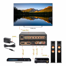 CHIEDERE <span class=keywords><strong>Convertitore</strong></span> Video <span class=keywords><strong>Hdmi</strong></span> Estrattore Audio <span class=keywords><strong>Hdmi</strong></span> A <span class=keywords><strong>Hdmi</strong></span> + audio + arco <span class=keywords><strong>Convertitore</strong></span> <span class=keywords><strong>di</strong></span> supporto 4 k 60 hz