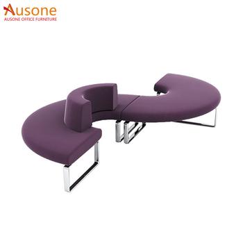 Genial Office Furniture Leather C Shaped Fabric Sofa Modern S Shaped Sofa