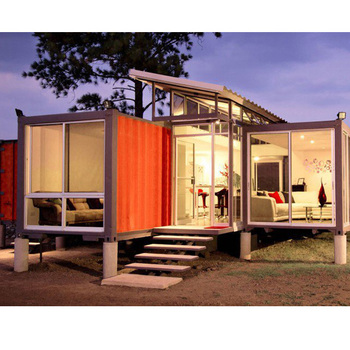 Luxury 20ft/40ft Prefab Shipping Container Home China Supplier