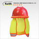 High Quality Excellent Material safety reflective mini hard hat neck sun shade