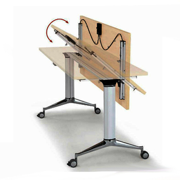 Modular Office Folding Training Table Foldable Conference Desk Buy - Foldable training table