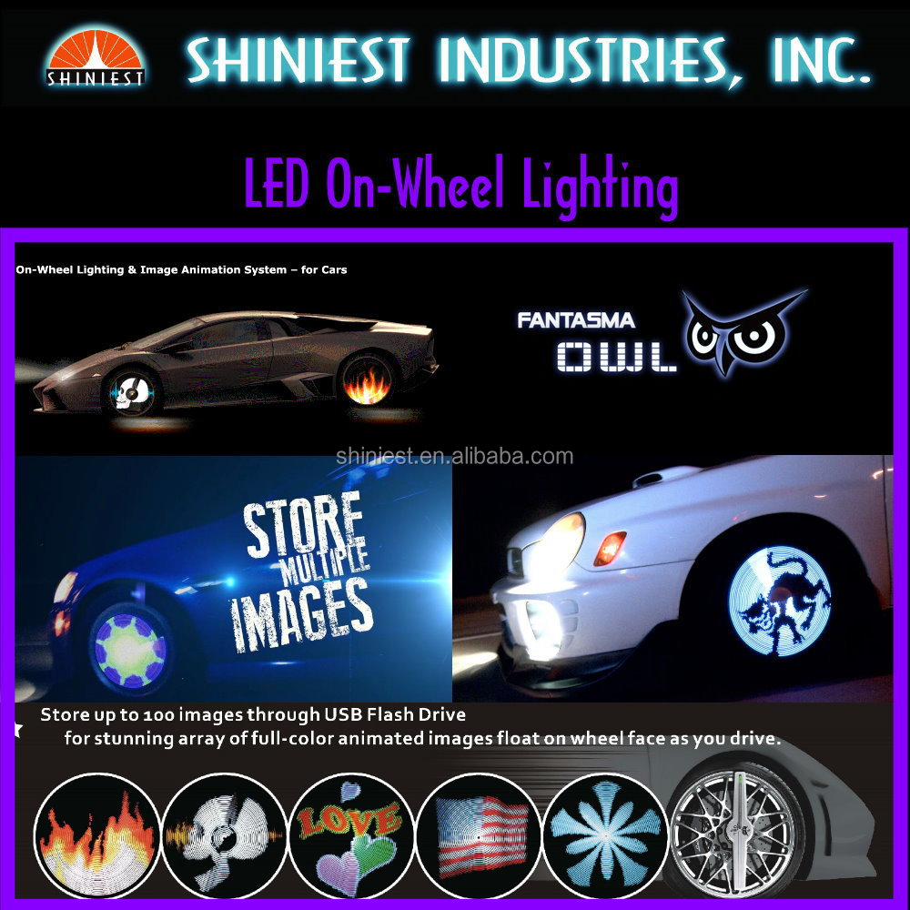 Unique and Special Product of Auto WL-1502R & WL-1702R LED lighting On-wheel with Imaging System - The Fantasma Owl