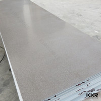 Artificial stone gray modified acrylic solid surface countertops