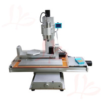 hot sale 5 axis mini cnc router 6040 wood carving machine 2.2KW cnc milling engraving machine
