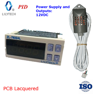 ZL-7802AL,12VDC in/output, PID, Egg, Incubator Controller, Temperature & humidity control, Multifunction, Automatic, Intelligent