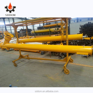 Heated screw conveyor,cement auger used in concrete batching plant