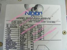 Original Nipron SNSP-P200-3D2S-FX 200w power supply equipment and source