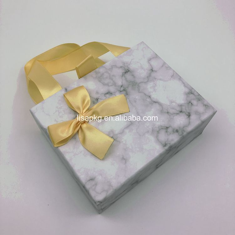 Custom Wholesale Bow Tie Ribbon Packaging Gift Drawer Paperboard Box