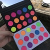 Private Label Neon Makeup Pick Your Own Colors Neon Eye Shadow Pallets