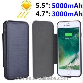 innovative design ea600 ba7f9 Solar Battery Case Cover Skin Charger 3000mah /5000mah Power Bank For  Iphone 6/6s/7/8/6plus/6s Plus /7plus/8plus - Buy 3000mah Power Bank,Power  Bank ...