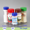 250 ml/9 oz Plastic Shaker for Salt,Plastic Salt and Pepper Shaker Container