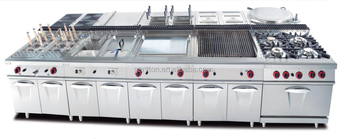 GRT-GH-987A Wholesale Price Commercial Gas Cooker With Gas Oven