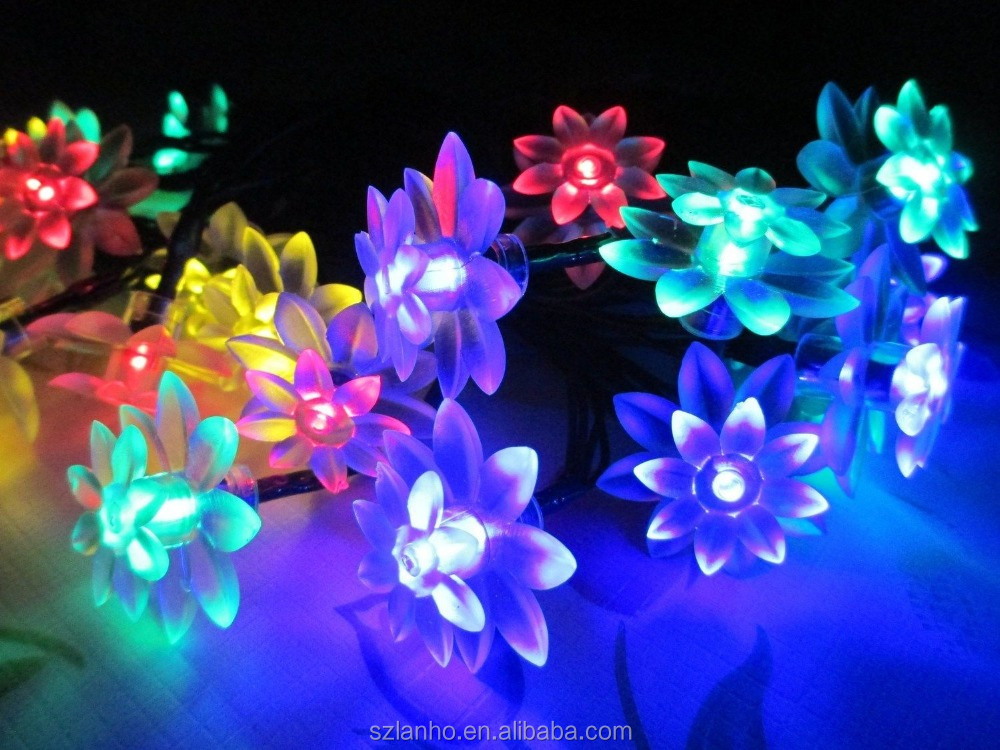 led lotus light led lotus light suppliers and manufacturers at alibabacom - Flower Christmas Lights