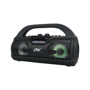 Wholesale Boombox Stage Stereo LED Light Handle Hold bluetooth V4.2 mini portable Speaker