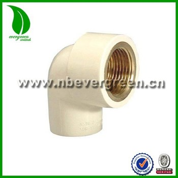 Hot water cpvc faucet copper tooth elbows buy copper 180 for Cpvc hot water