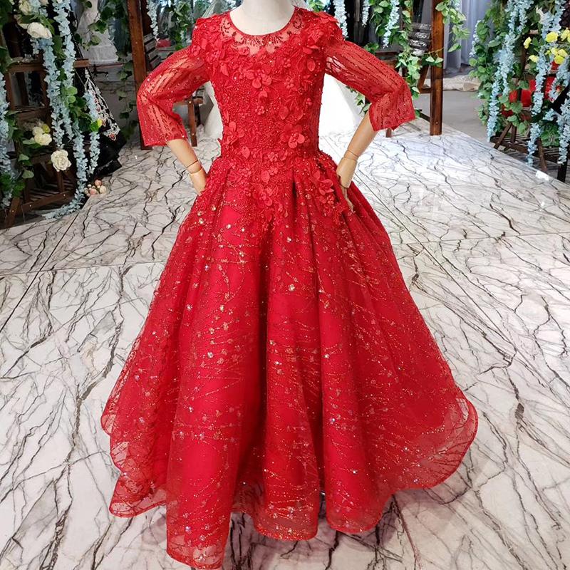 5fed12383ff0 Großhandel rote blumenmädchenkleider Kaufen Sie die besten rote ...