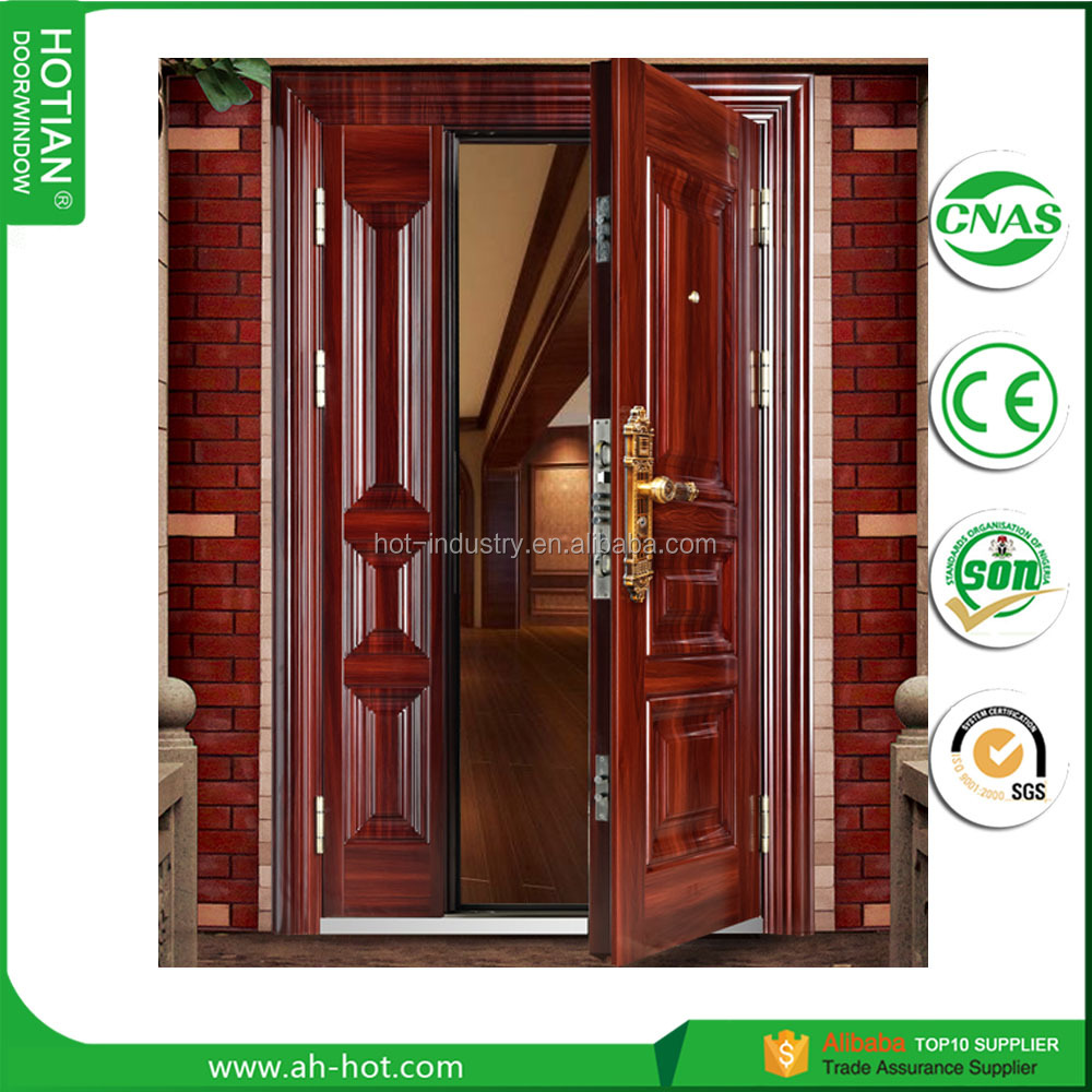 Good Pakistan House Entry Gate Designs Fire Rated Steel Security Door Mom And  Son Front Door With Ce   Buy Steel Security Door,Pakistan House Gate,Latest  Main ...