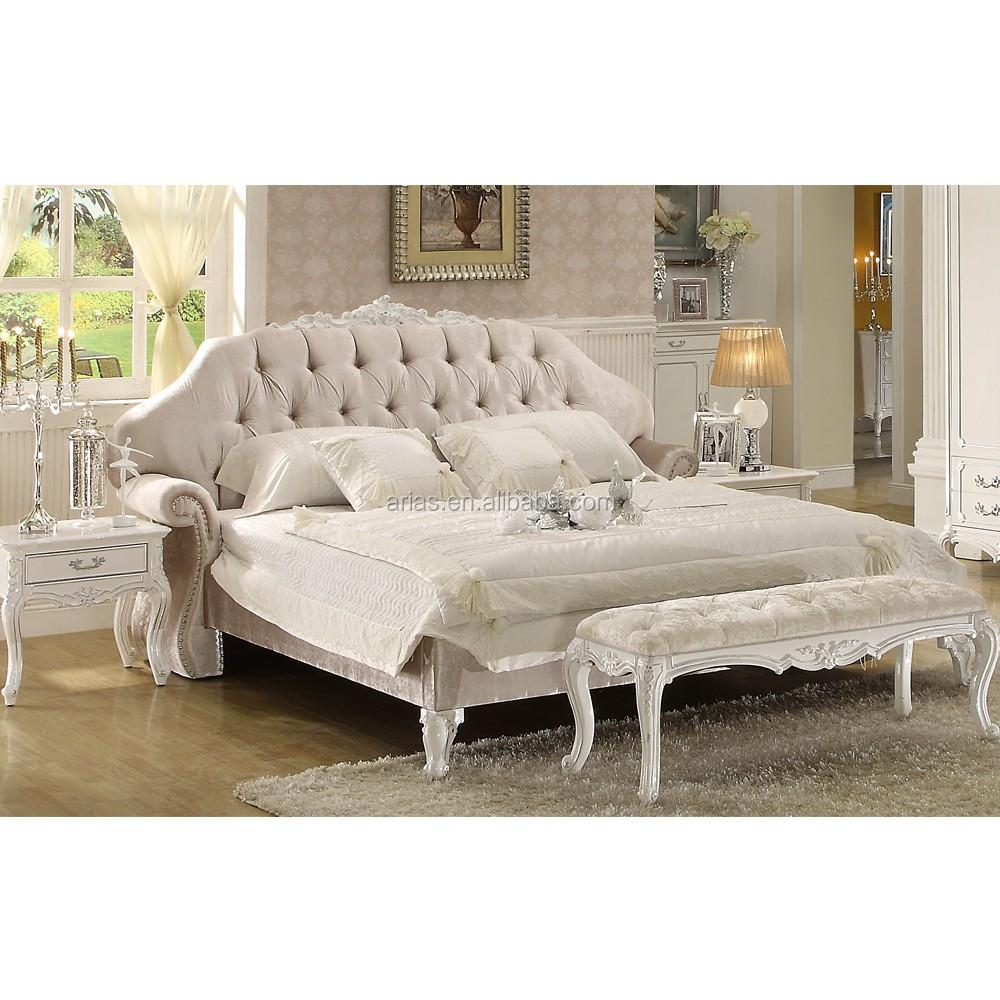 Hoge kwaliteit luxe bed namen 558# lederen bed slaapkamer ...