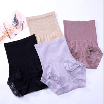 ddedf437838f Elastic Nylon Underwear Slimming High Waist Munafie Panty - Buy Butt ...
