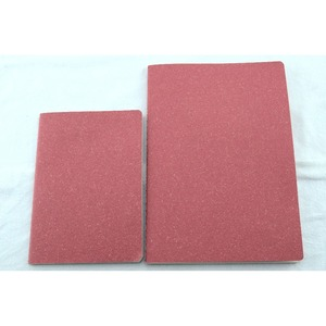 Blank page notebook soft cover
